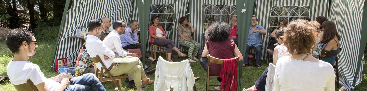 réunion artistes 06/2016